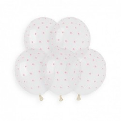 Chic dots Baby Pink