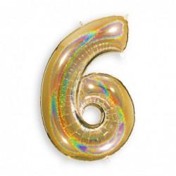 6 Glitter Gold