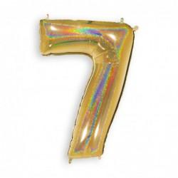 7 Glitter Gold