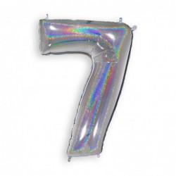 7 Glitter Silver