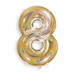 8 Glitter Gold