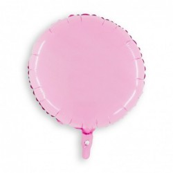 Round Pastel Pink